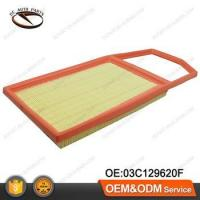 Buy cheap Hot Sale PU Paper Auto Car Air Filter For AUDI VW OEM:03C129620F from wholesalers