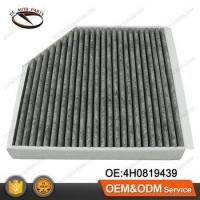 Buy cheap Activated Carbon Cabin Air Filter Element For AUDI VW OEM:4H0819439 from wholesalers