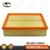 Buy cheap Original Auto Paper Air Filter For AUDI VW OEM:06C133843 from wholesalers
