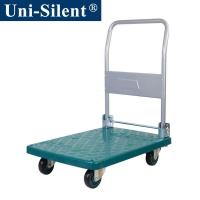 Uni-Silent 150kgs Plastic Hand Trolley Trolley with Folding Handle LH150-DX