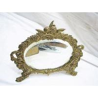 Buy cheap Ornate Vintage Cast Iron Leaf Scroll Easel Stand Mirror Picture Frame 39 99 Picclick from wholesalers