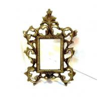 Buy cheap Small Cast Iron Metal Picture Frame Acanthus Leaf Ornate from wholesalers