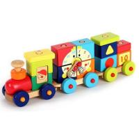 Buy cheap Wooden Train blocks from wholesalers