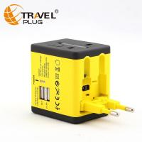 Universal Travel Adapter Germany power plug with 2a usb charger multi outlet converter NT690&N6