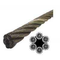 China Elevator Fiber Core Wire Rope on sale