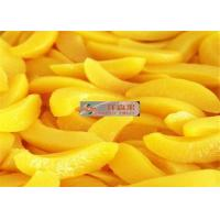 Buy cheap PH 3.6 Canned Tropical Sliced Peaches Fruit Preserving Peaches Short Lead Time from wholesalers