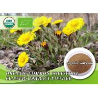Buy cheap Organic common coltsfoot flowers extract powder from Wholesalers
