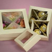Square Chocolate Candy Boxes Wholesale Packaging