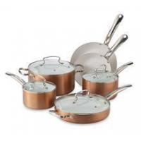 Buy cheap Food Release System Aluminum Metallic Cookware Set, Large, Copper from Wholesalers