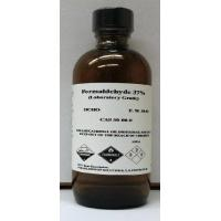 China Formaldehyde 37% High Purity 120ml (4oz) Glass Bottle on sale