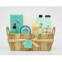 China SPA Bath and Body Gift Set with Wooden Willow Baskets on sale