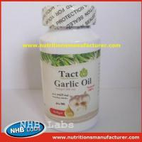 Buy cheap Garlic Oil Soft Capsule Oem Private Label from wholesalers