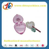 Buy cheap Plastic Heart Box With Customized Eraser Novelty Stationery Set from Wholesalers