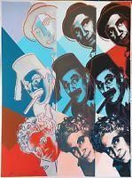 Andy Warhol Ii.232 The Marx Brothers 1980 | Hand Signed Screenprint More Avail