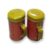 Buy cheap Pepper Salt Tin Box from Wholesalers