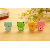 Promotional Cheap Chinese Cartoon Figure Eraser for Student and Children