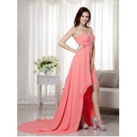 Buy cheap Cheap Watermelon High-low Prom Dress Made By Chiffon from Wholesalers