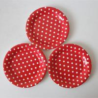 Paper plate Dotted paper plate