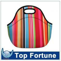 Buy cheap wetsuit material lunch bag from wholesalers