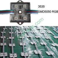 Buy cheap DC12V 3232 SMD5050 RGB 4 LED module from Wholesalers