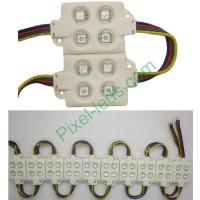 Buy cheap SMD5050 RGB LED sign injection molding 4 LED module from Wholesalers