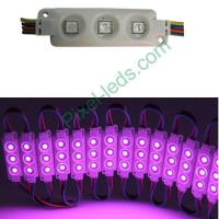 Buy cheap DC12V SMD5050 RGB light box injection molding 3 LED module from Wholesalers