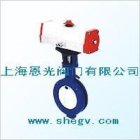 D672X seals butterfly's valve to the inserting type softly pneumatically