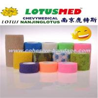 Manufacture Of Flexible Elastic Cohesive Bandage Various Color