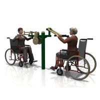 Buy cheap WD-5016BH Handicap Arm Raising and Butterfly Outdoor fitness equipment from Wholesalers