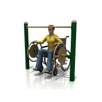 Buy cheap WD-5005AH Handicap Big Turning Wheels Outdoor fitness equipment from Wholesalers