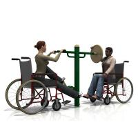 Buy cheap WD-5014BH Handicap Feet and Arm trainer Outdoor fitness equipment from Wholesalers