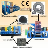 Auto400/450/560/560L Automatic tire recycling machine