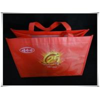 Nonwoven bags Red colorful printing non woven bag