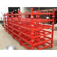 Buy cheap Customised Adjustable Stacking Shipping Stack Rack With Steel Plate from wholesalers