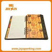 plastic cover custom spiral notebook