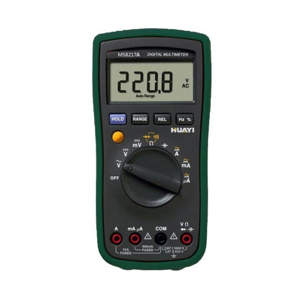 ms8217a multimeter with temperature measure same with fluke 17b
