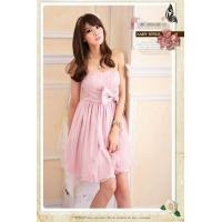Buy cheap Hot Sale Lady Sexy Bowknot Sleeveless Slim Strapless Dresses from wholesalers