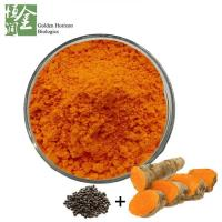 Buy cheap Mix Powder Turmeric with Black Pepper Extract Curcuminoids with BioPerine Piperine from wholesalers