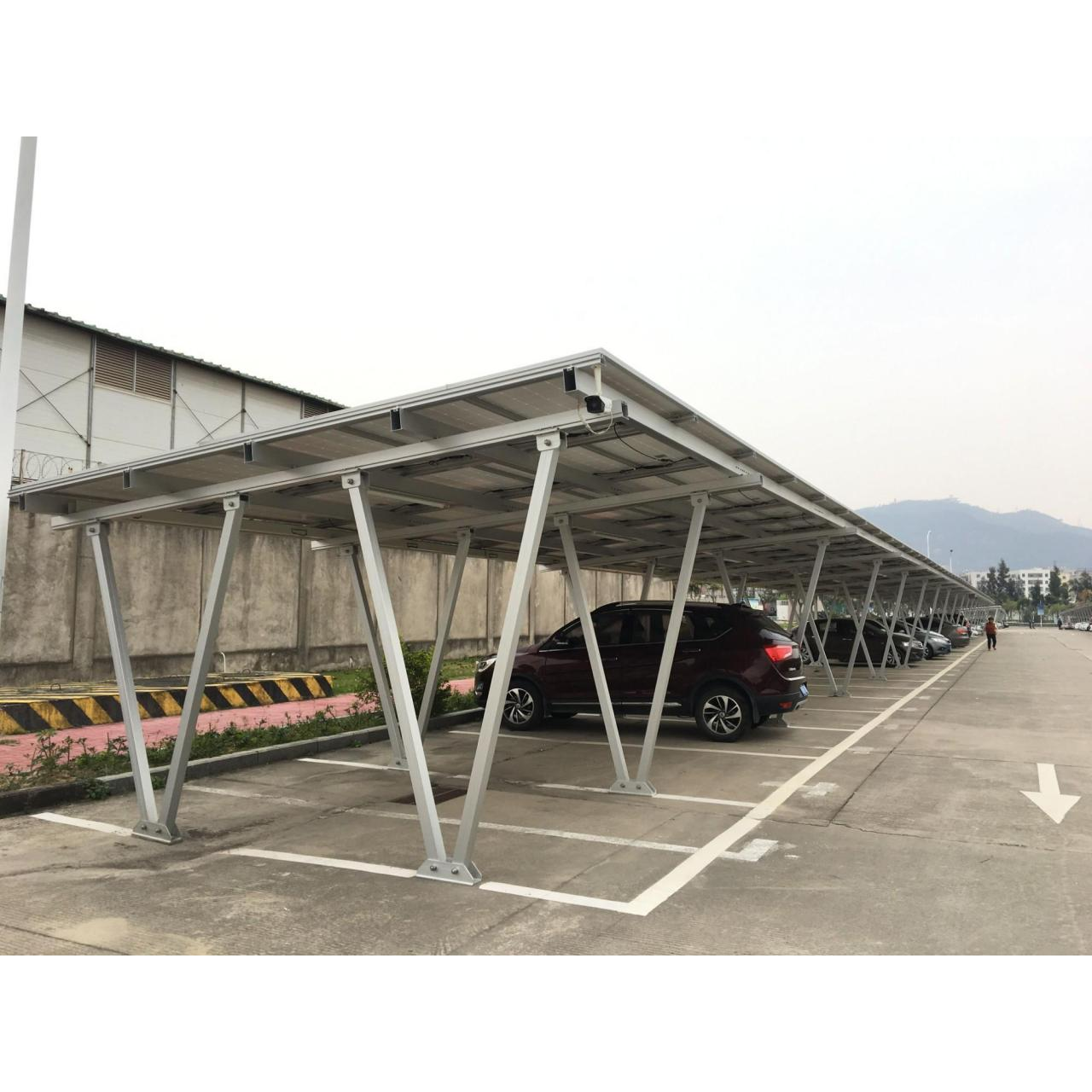 Buy cheap Canopy Solar Racking Structure from wholesalers