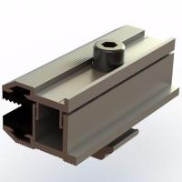 Buy cheap Solar Racking Thin Film End Clamps from wholesalers