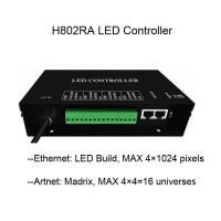 Buy cheap H802RA Artnet to SPI ws2811 SK6812 DMX LED Controller from wholesalers
