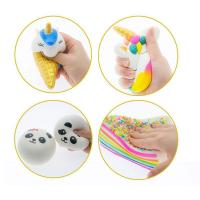 Buy cheap 2018 New slow rising toys Arrivals Cream Scented Jumbo Squishy Rainbow milk Slow Rising from wholesalers