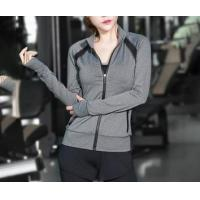 Buy cheap Yoga Jackets With Zipper & Pockets from wholesalers