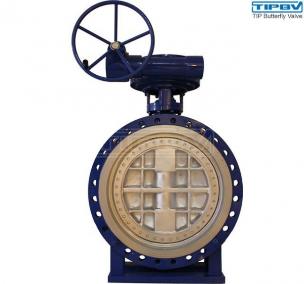 China Bidirectional Laminated Seal Triple Offset Butterfly Valve Series 3200