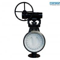 Buy cheap Floating Seat Bi-directional Laminated Seal Triple Offset Butterfly Valve Series 4100 from wholesalers
