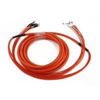 Buy cheap ST/UPC-LC/UPC 8 Core OM2 Multimode LSZH Fibre Optic Patch Cord from wholesalers