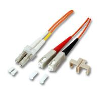 Buy cheap FC/UPC-SC/UPC OM2 Duplex Multimode 2.0mm LSZH Optical Fibre Patch Cable from wholesalers