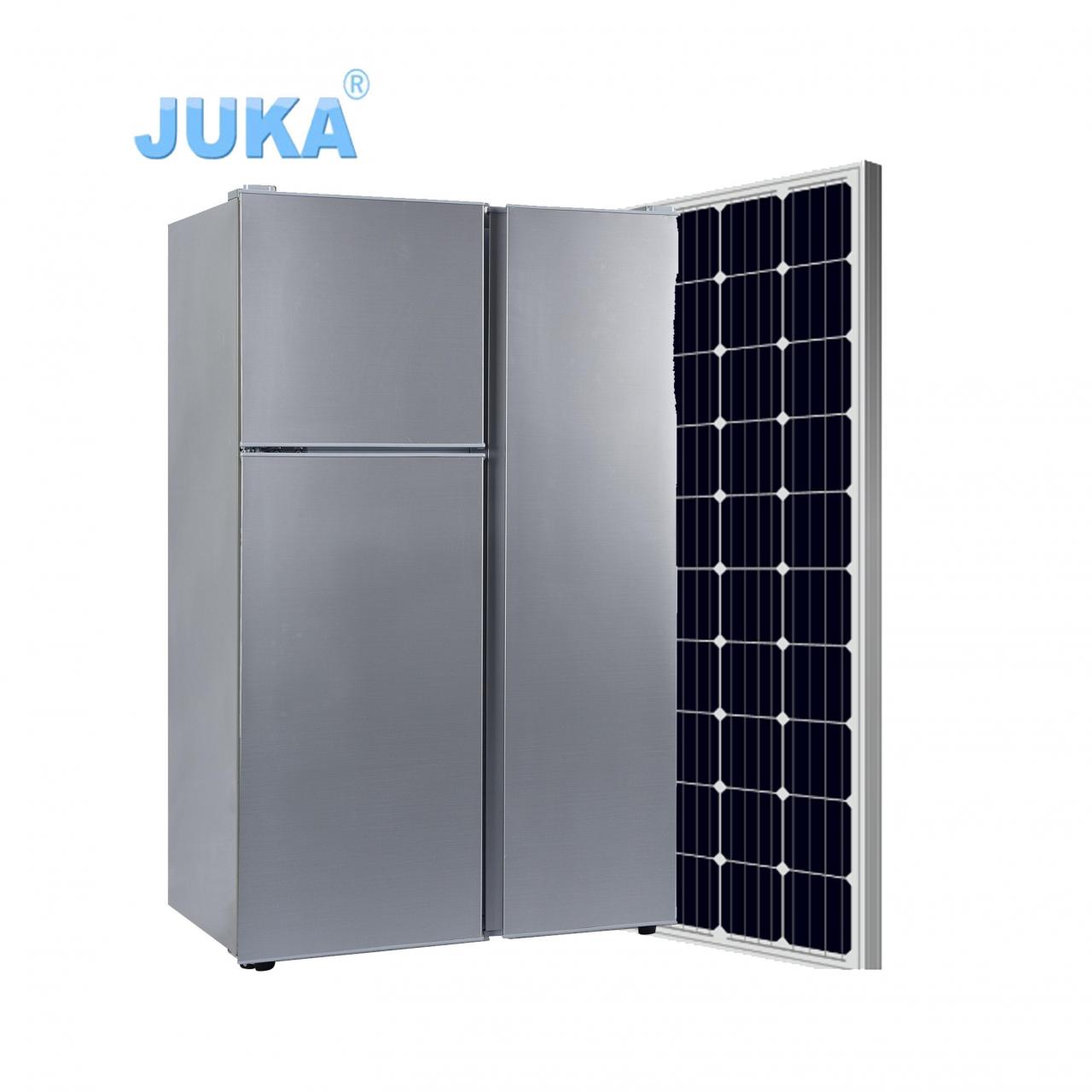 Buy cheap BCD-125T 125Liter DC 12V 24V Upright Top Freezer Three Doors Solar Refrigerator from wholesalers