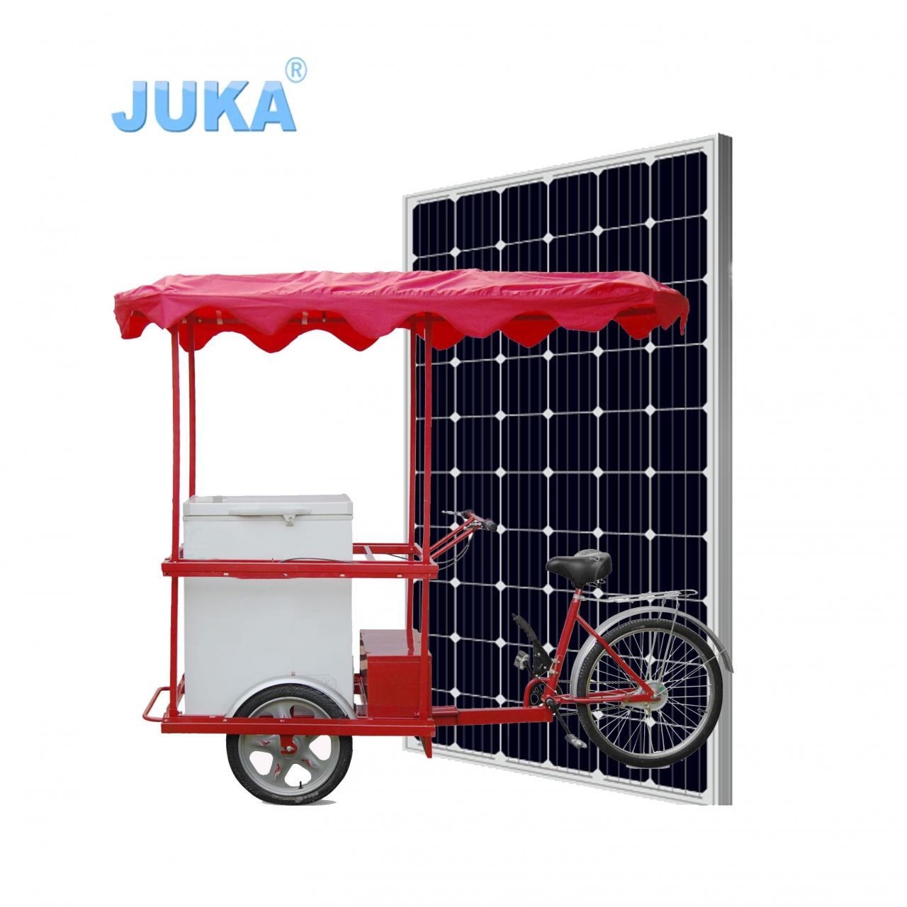 Buy cheap 108Liter Solar Ice Cream Tricycle from wholesalers