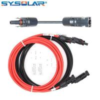 Buy cheap Solar cable extension with MC4 Solar Connnector from wholesalers